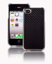 Iphone  4 & 4S Back Case Carboon