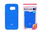 Samsung Galaxy S6 Egde Back Case Blau