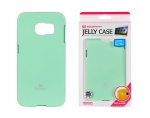 Samsung Galaxy S6 Egde Back Case hell Gruen